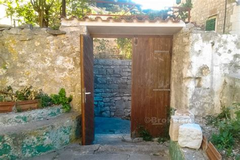 house for renovation for sale croatia brac old mediterranean house for renovation for sale