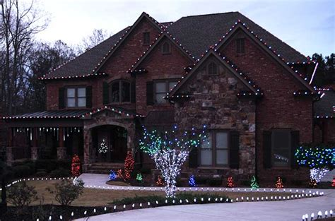 christmas lights on roof outdoor lights ideas for the roof