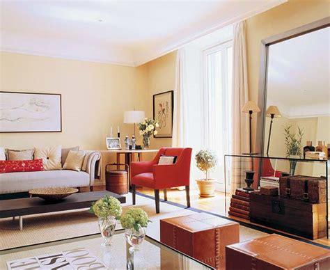 an unforgettable beige apartment in madrid