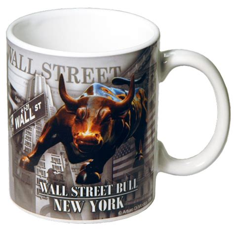 gifts for wall street guys wall street bull mug