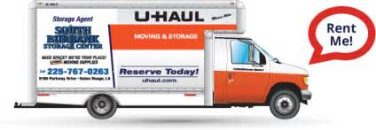 uhaul at home self storage in baton la southland storage centers