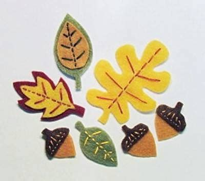 Set Cardy Layer 25 best ideas about felt leaves on paper