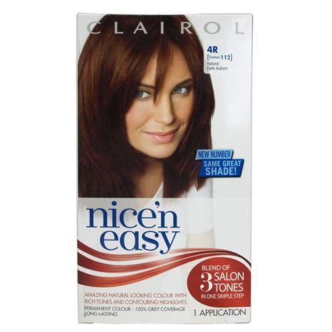 4r hair color clairol n easy auburn 4r former 112 ebay