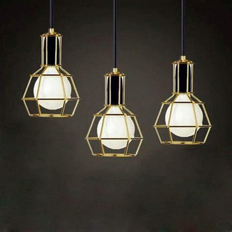 American Vintage Edison Pendant Lamps Chrome Bulb Holder