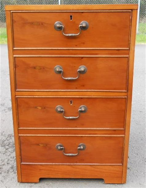 Yew Filing Cabinets Yew Two Drawer Filing Cabinet