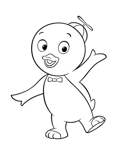 Free Printable Backyardigans Coloring Pages For Kids Printable Pages For Coloring