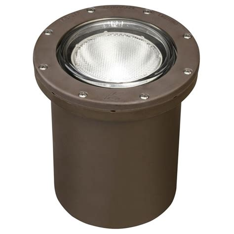 Kichler Well Light Kichler 15268az Architectural Bronze In Ground Well Light For Par20 Or Par30 Ls