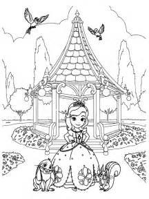 Colorear La Princesa Sofia L L