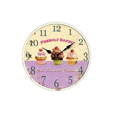 orologi da muro per cucina orologio a muro in legno con serigrafia dolci per cucina