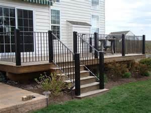 deck stairs ideas stair railing ideas to improve home design