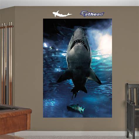 shark wall murals shark underwater mural realbig wall decal