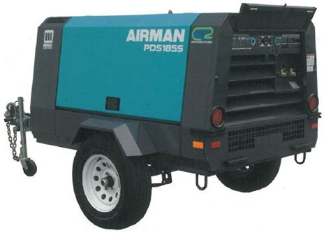 item pds400s 6b1 airman pds400s portable air compressor on compressed air systems inc