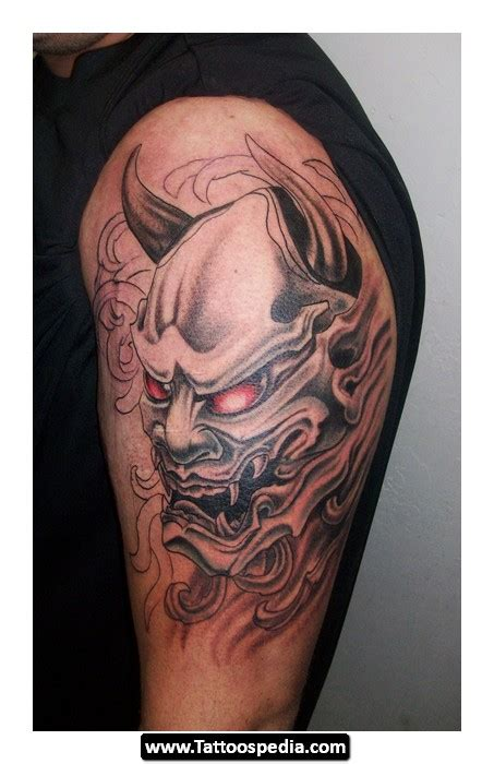 oni mask tattoo pictures tattoospedia