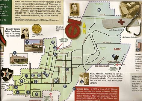 fort sam houston texas map fort sam houston museum war and museums on waymarking