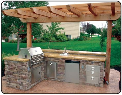 simple outdoor kitchen love this simple outdoor kitchen for the home pinterest