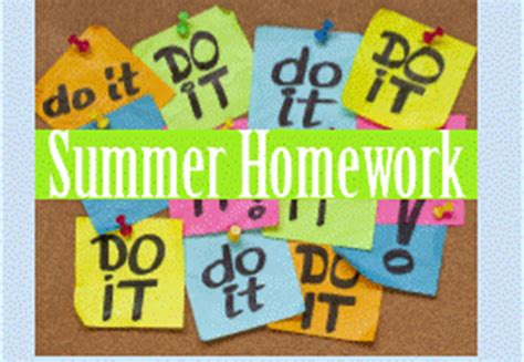 8th Grade Health Homework by Summer Homework Click The Links Below Each Grade Level