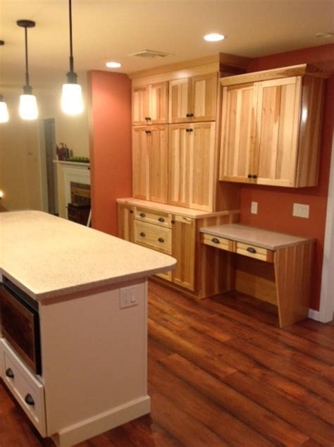 kitchen cabinets reading pa kraftmaid mission hickory natural kitchen traditional
