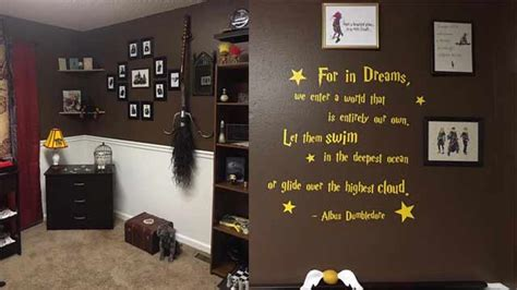 harry potter style bedroom in pictures a perfect harry potter themed room for you