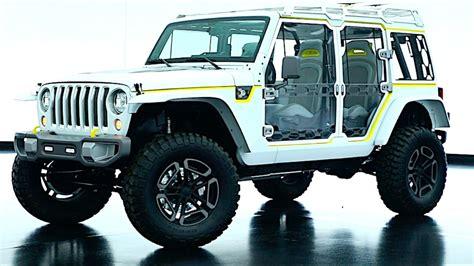 jeep safari concept interior 2017 jeep safari wrangler concept exterior