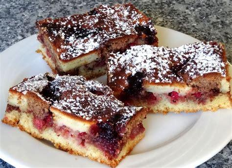 johannisbeeren kuchen saftiger klecks kuchen mit johannisbeeren rezept mit bild