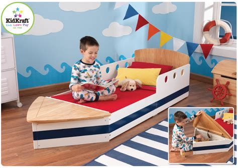 toddler boat bed kidkraft toys furniture boat toddler bed