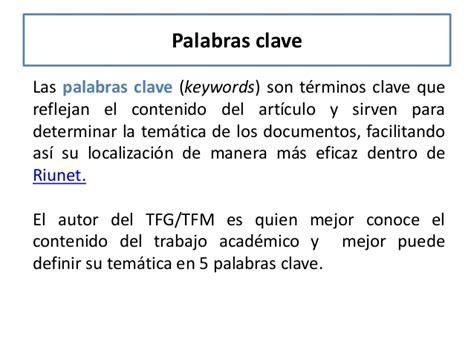 clave significado de clave diccionario c 243 mo redactar la bibliograf 237 a el resumen y las palabras