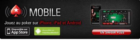 pokerstars mobile application pokerstars pour mobile faq et service de support