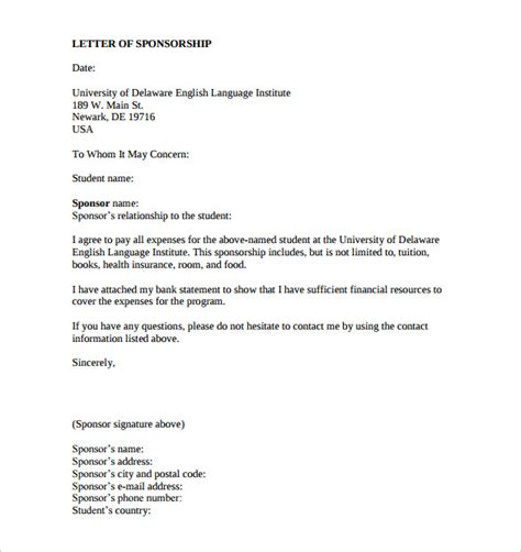 letter for donations template sponsorship letter templates 40 free sle exle