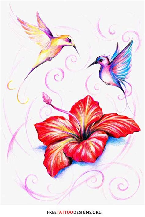 bird and flower tattoo tattoos and ideas 100 designs