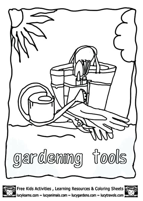 garden coloring pages for preschool free coloring pages of vegetable templates