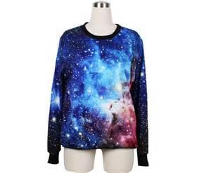 Cool galaxy sky print fashion hoodie sweater hoodies amp sweatshirts