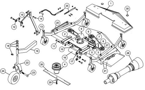 king kutter finish mower parts diagram finish mower gearbox parts finish free engine image for