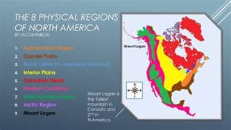 geographic regions of america map the 8 physical regions of america
