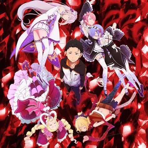 Poster Rezero Kara Hajimeru Isekai Seikatsu 2 re zero kara hajimeru isekai seikatsu ter 225 25 epis 243 dios