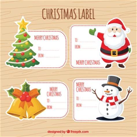 Etiketten Aufkleber Weihnachten by Weihnachten Etiketten Vektoren Fotos Und Psd Dateien