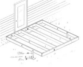 Handrail Support Spacing Woodwork How To Build A 10x10 Wood Deck Pdf Plans