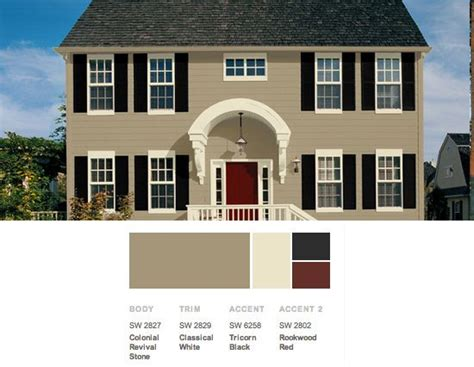 exterior color scheme from the lush forests of the pacific northwest to the harbors