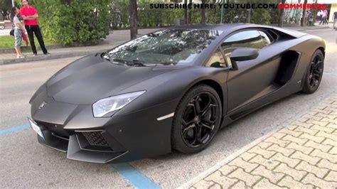 Lamborghini Aventador Black Matt by Awesome Matte Black Lamborghini Aventador Lp 700 4