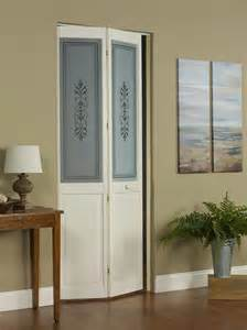 Bifold Glass Doors Lace Wood Bifold Door With Traditional Glass Design