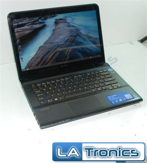 Lcd Vaio E Series sony vaio e series sve14a27cxh 14 quot touch screen intel i7 3632qm 2 2ghz 8gb 1tb 27242861404 ebay