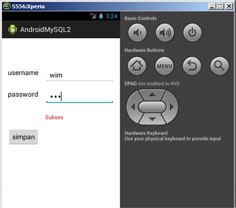 tutorial android listview php mysql tutorial android dan mysql dengan php media cyber