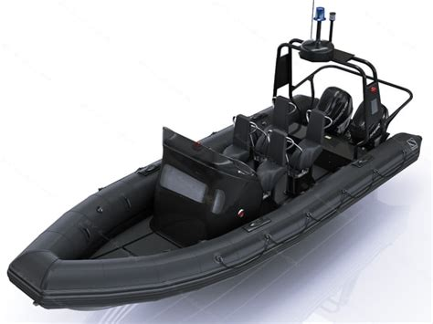 zodiac boat military 3d military inflatable boat zodiac model