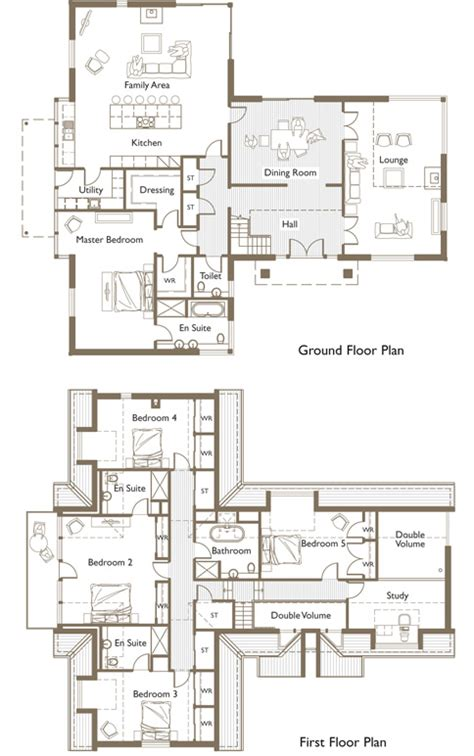 h and h homes floor plans home design ideas t shaped house plans with garage nz