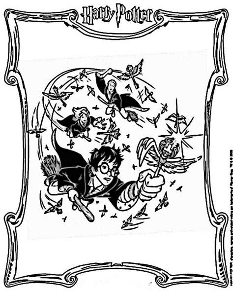 Harry Potter 26 harry potter ausmalbilder zum ausdrucken 26