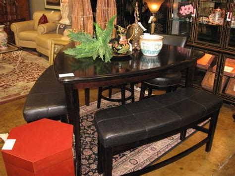 ashley triangle dining table set ashley furniture high top pub dining table with 2 benches