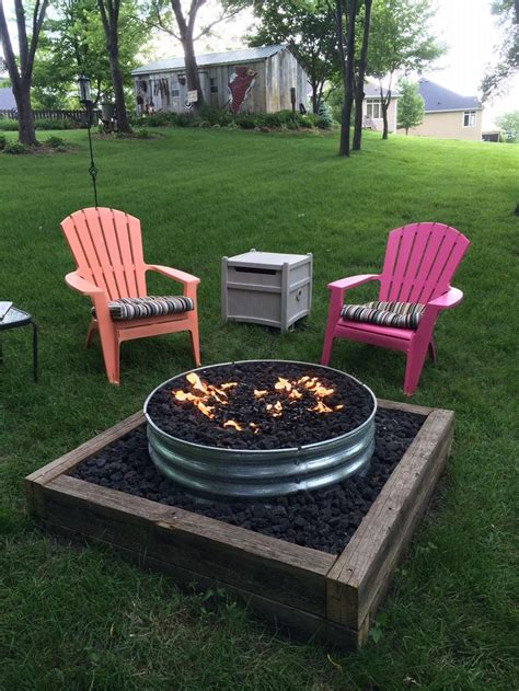 backyard gas fire pit best 25 diy gas fire pit ideas on pinterest gas firepit
