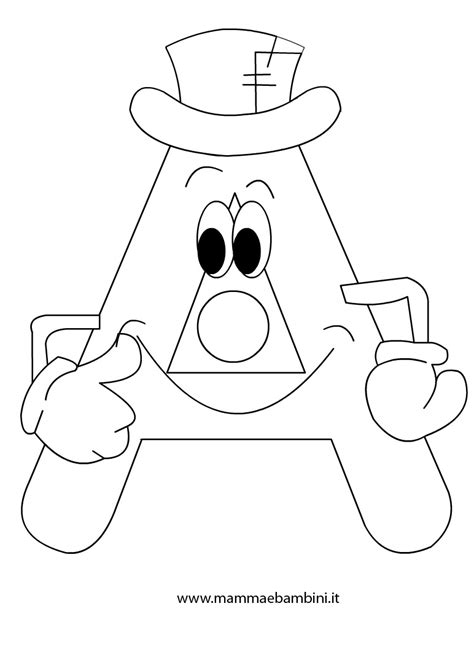 the letter aa coloring pages