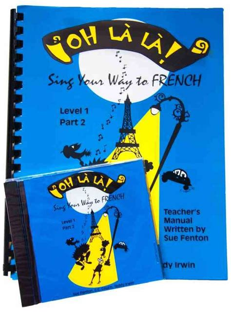 Cd S Songs To Teach French Madame Fifi Publications