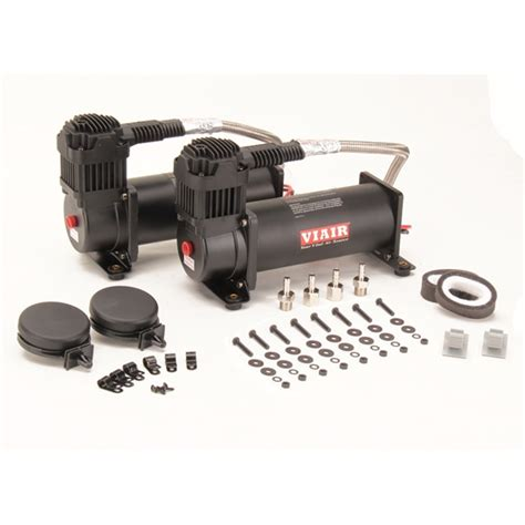 viair 44442 dual air suspension compressor kit 444c black ebay