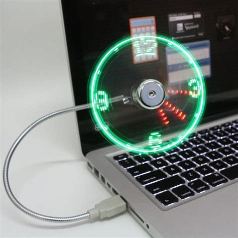 usb led desk fan and clock that should be mine